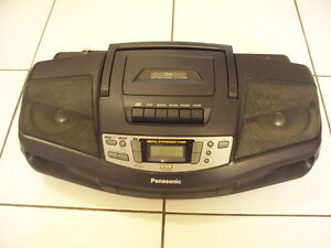 Vintage Panasonic RX-DS16 AM/FM CD/Casette Portable Stereo 1990s