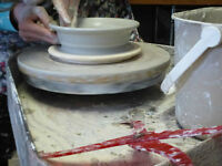 Pottery Classes - Garden Art, Wine & Dine and Jewelry Making!