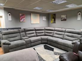 New Scs Endurance Alexander Corner sofa power recliner