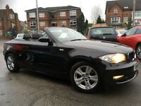BMW 1 SERIES 120i SE (black) 2008