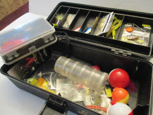 Fishing Tackle & Tackle Box