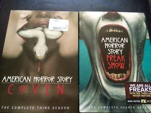 Dvd american horror story season 3/4