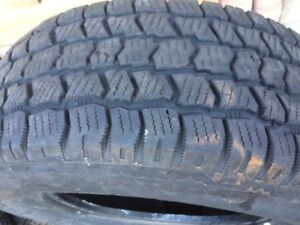 Cooper discoverer AT tires.  Mountain snowflake