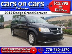 2012 Dodge Grand Caravan w/Stow N Go, BlueTooth, USB Connect $11
