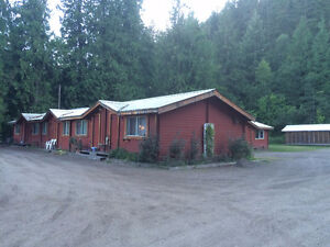 Enderby - Cabin suite just minutes north of Enderby