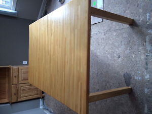 IKEA Solid Beech Dining Table