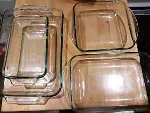 Anchor glass dishes
