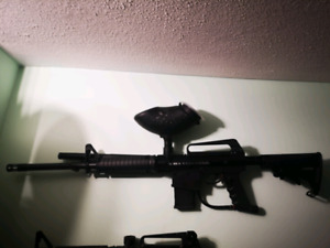 BT Omega semi automatic paintball gun