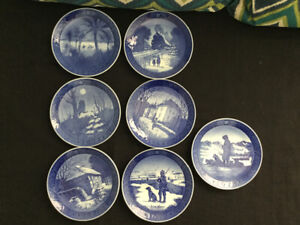 Danish Collectible Plates