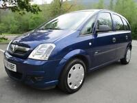 08/58 VAUXHALL MERIVA 1.4 LIFE TWINPORT 5DR IN BLUE