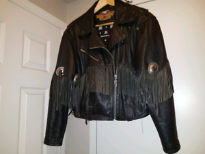 LADIES HARLEY BIKE JACKET & GLOVES
