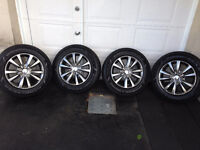 Mags CHRYSLER TOWN & COUNTRY + Pneus Hiver GOODYEAR 225-65-17