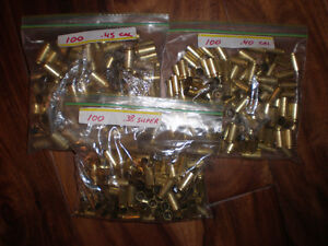 cleaned brass ready to reload....