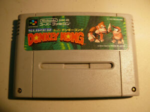 Cassette Donkey Kong Country **version japonnaise**