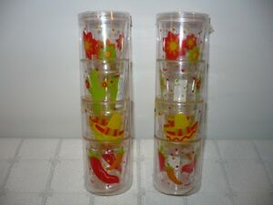 Plastic Fiesta Shot Glasses