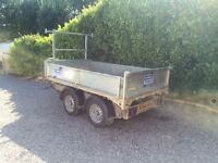 Ifor Willian's tipper trailer