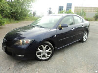 2008 Mazda 3 GT * 2.3 L 4CYL   LEATHER ROOF LTD LOADED