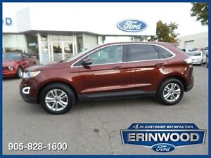 2015 Ford Edge SELONE OWNER CPO 24M@1.9%/12MO/20,000KM EXT WARR
