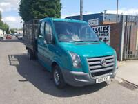Volkswagen Crafter 2.5BlueTDi ( 109PS ) LWB CR35 CREW CAB Manual Diesel Van