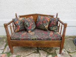 Fabulous Antique (c1890) Bench Seats 2-3 with Cushions