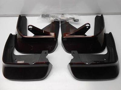 New OEM 2012 Acura TL Mud Guard Kit - Copper