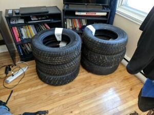 6x Pneus / Tires P215 70R15 $50 le tout/for the lot