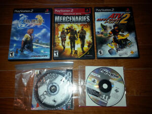 Bundle of 5 PS2 and PS1 games