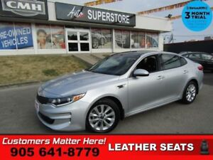 2017 Kia Optima EX  LEATH ROOF BS RAIN-SENS 12W-SEAT MEM HS REAR