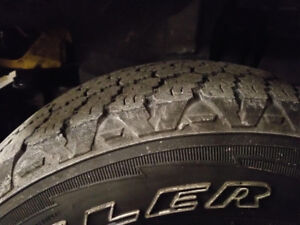 Used Goodyear Wrangler Silent Armor Tires for sale! Gd condition