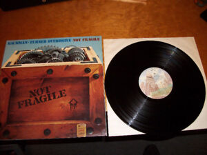1974 BACHMAN-TURNER OVERDRIVE - Not Fragile Album / Record / LP