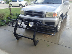 Grill Guard with Fog Lamps for Nissan Pathfinder