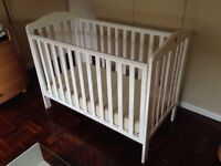 Cot, Solid Wood, Mothercare