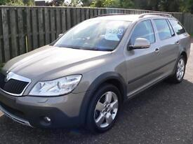 Skoda Octavia 2.0TD ( 140bhp ) 4X4 Scout 1 private owner HUGE REDUCTION IN PRICE