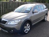 Skoda Octavia 2.0TD ( 140bhp ) 4X4 Scout 1 private owner