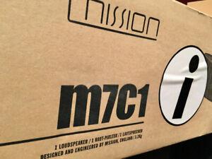 Mission M7C1i center speaker NEW