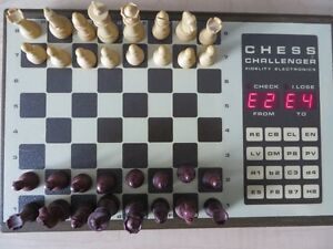 CHESS CHALLENGER 7 ELECTRONIC CHESS SET