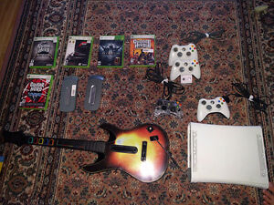 Xbox 360 console, games and accessories