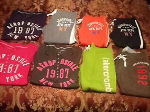 Girls Abercombie & Fitch Aeropostale Clothing Lot Size 10/12
