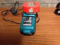 Makita 18v charger and a 18v battery