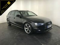 2013 63 AUDI A4 S LINE BLACK EDITION TDI DIESEL 1 OWNER SERVICE HISTORY FINANCE