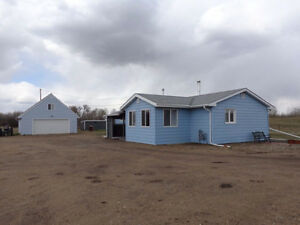 Acreage House for Rent in Hardisty - 26 Acres w/ House and Shop