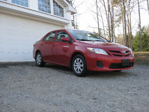 2012 Toyota Corolla , Mint Condition, 78000km