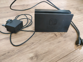 Nintendo Switch Dock, Charger and HDMI Cable