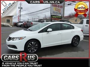 2013 Honda Civic EX    FREE 1 YEAR PREMIUM WARRANTY INCLUDED!