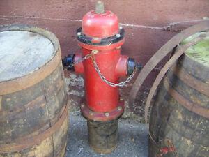 #greenspotantiques REd Darling fire Hydrant 1954, oak barrels Cambridge Kitchener Area image 2