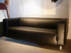 Leather IKEA Klippan Couch