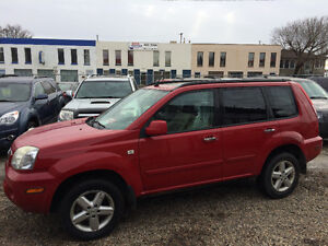 2005 NISSAN XTRAIL 4X4, PANORAMIC ROOF, WARRANTY INCLUDED