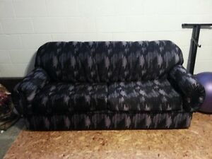 Pull-out Sofa Bed with Slip Cover
