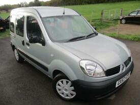 2007 RENAULT KANGOO AUTHENTIQUE 16V AUTOMATIC WHEELCHAIR ACCESS VEHICLE MPV (MUL