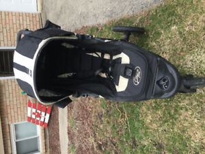 City Elite single stroller by Baby Jogger with lots of extras
